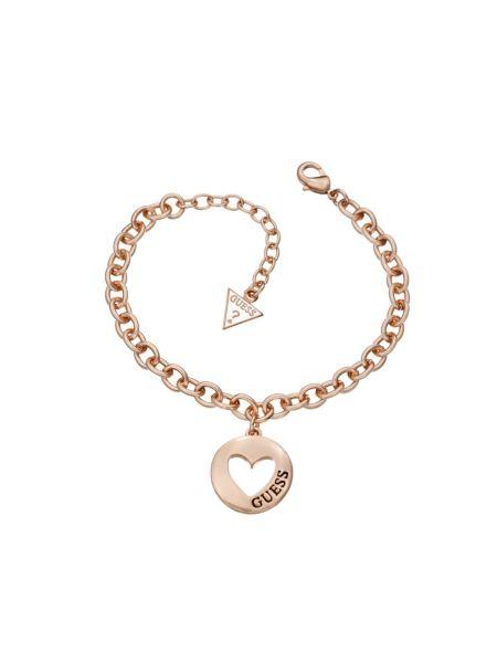 G girl heart coin bracelet.