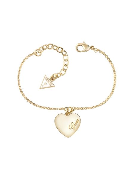 Bracelet heartbeat plaqué or jaune
