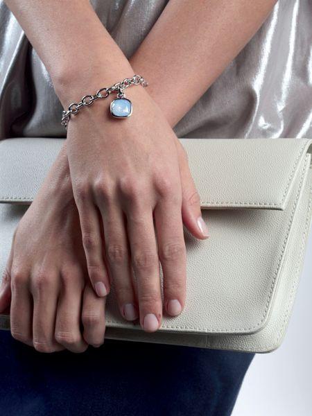Bracelet crystal shades rhodié