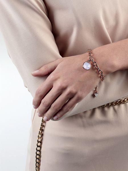 Bracelet crystal shades plaqué or rose