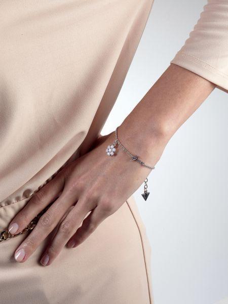 Bracelet california sunlight rhodié