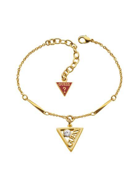Triangle charm bracelet.