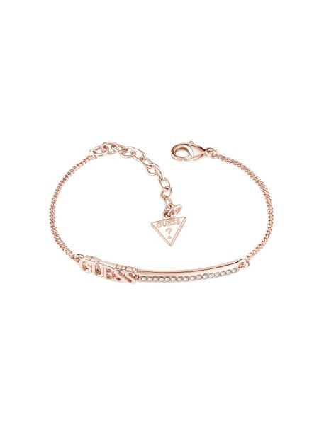 Bracelet linear plaqué dor rose