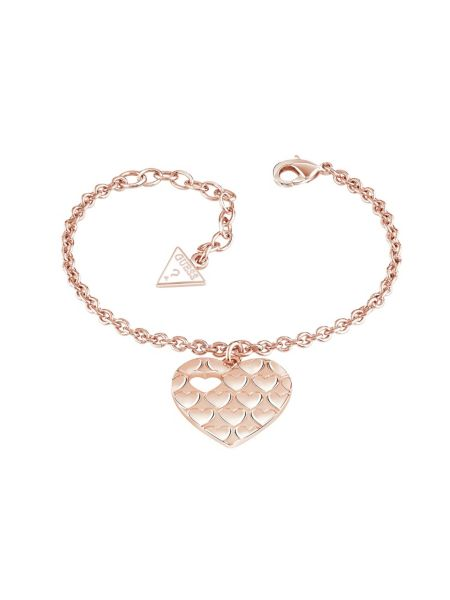 Bracelet heart devotion plaqué dor rose