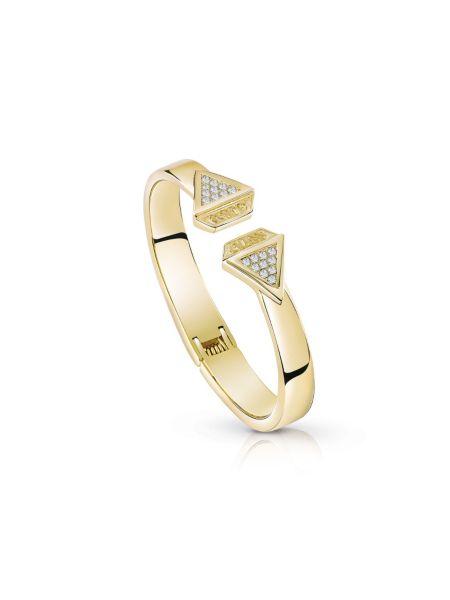 Bracelet forme diamant plaqué dor jaune