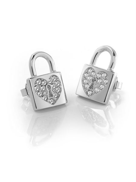 Guess - Aretes Heart Lock - 2