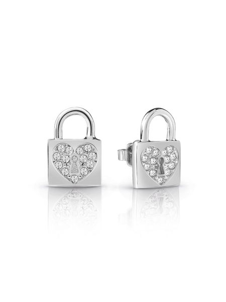 Guess - Aretes Heart Lock - 1