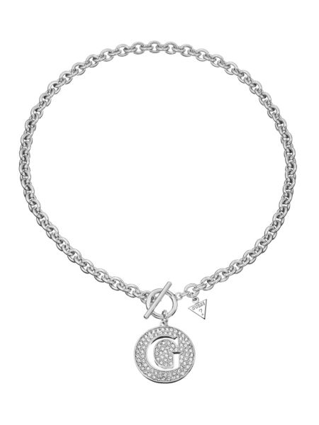 G girl large pave g pendant necklace.