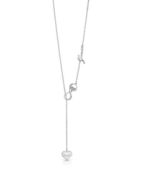 Halskette Endless Love Herz | Schmuck > Halsketten > Herzketten | Silber | Guess