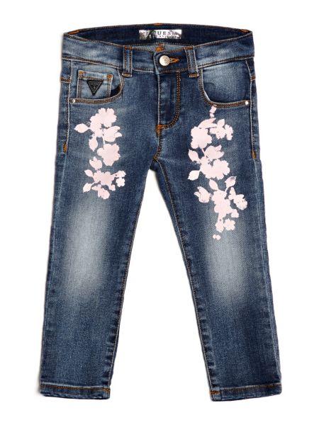 Jeans Applicazioni Floreali