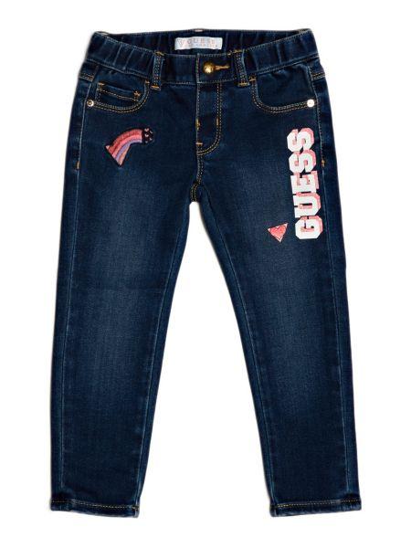 Jeans Con Dettagli Frontali
