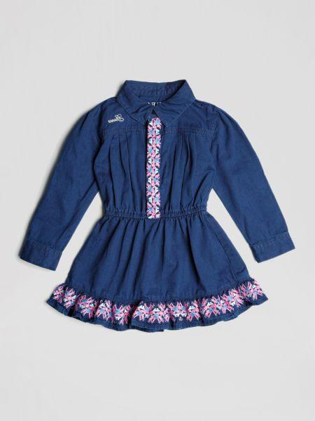 Imagen principal de producto de Vestido Vaquero Detalles Bordados - Guess
