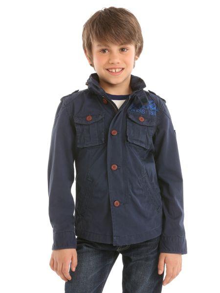 Multipocket twill jacket.