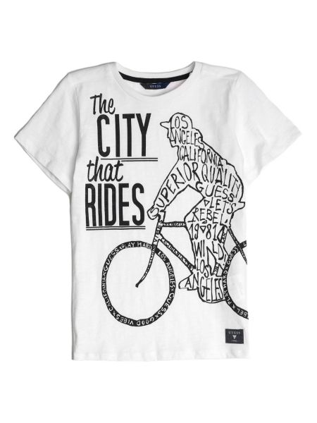 T shirt bicyclette