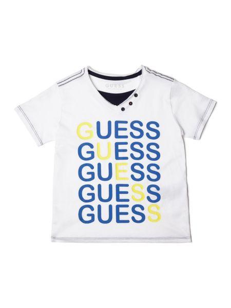Imagen principal de producto de Camiseta Logotipo Frontal - Guess
