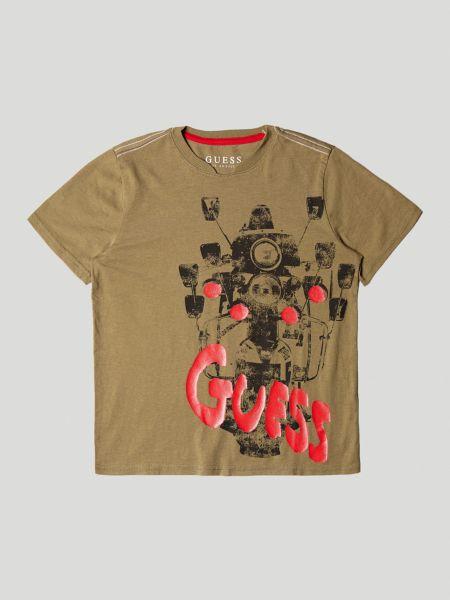 Imagen principal de producto de Camiseta Estampado Frontal Logotipo - Guess
