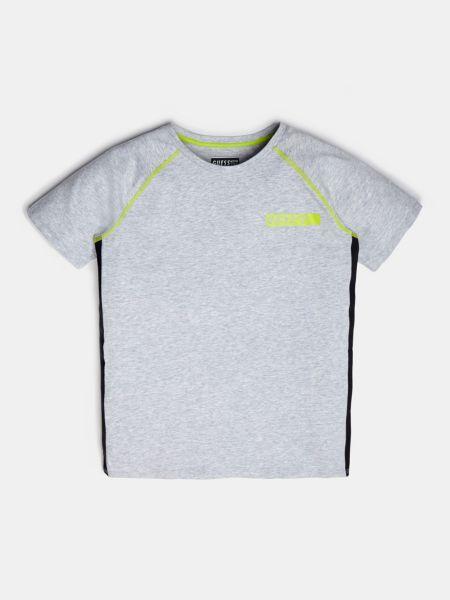 Imagen principal de producto de Camiseta Ribetes En Contraste - Guess