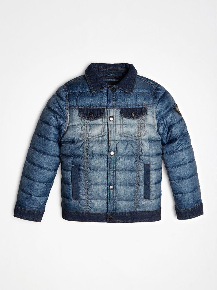 Guess Denim Look Down Jacket | ricciano UNITED KINGDOM