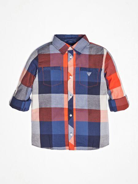 Guess - Check Print Shirt - 1
