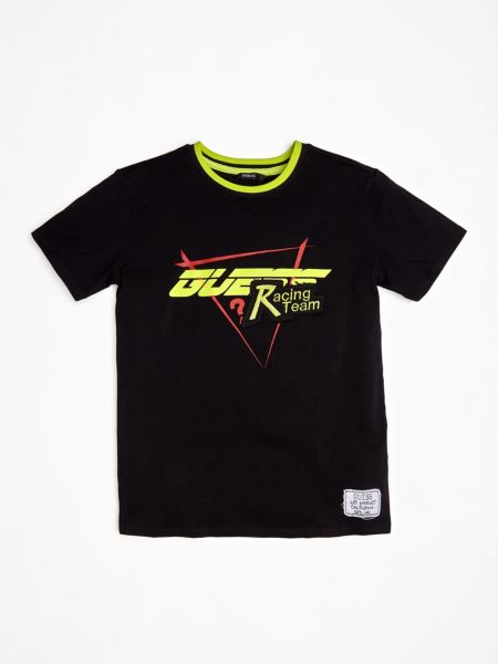 Guess - T-Shirt With Logo On The Front - 1