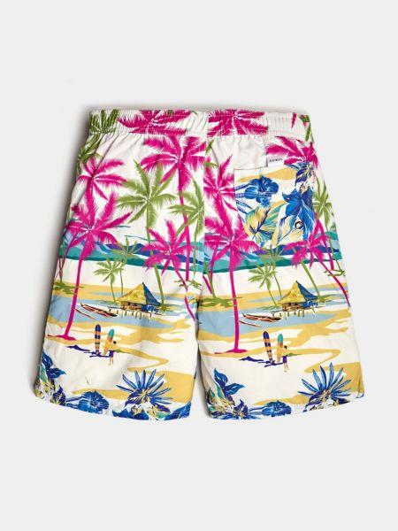 Guess - Shorts De Bain Imprimé Palmiers - 2