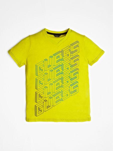 Guess - T-Shirt Imprime Logo Frontal - 1