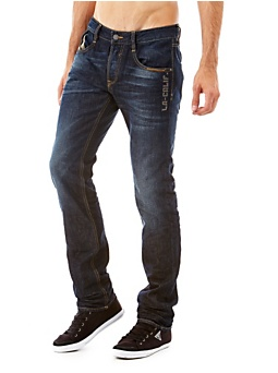 Jean Taille Basse Coupe Skinny Jambe Droite