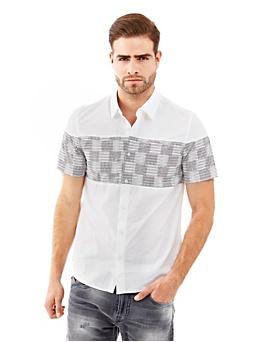 Gridlock Print Shirt