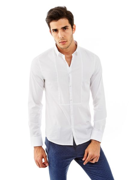 Chemise coton stretch