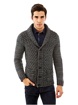 Wool And Alpaca Cardigan