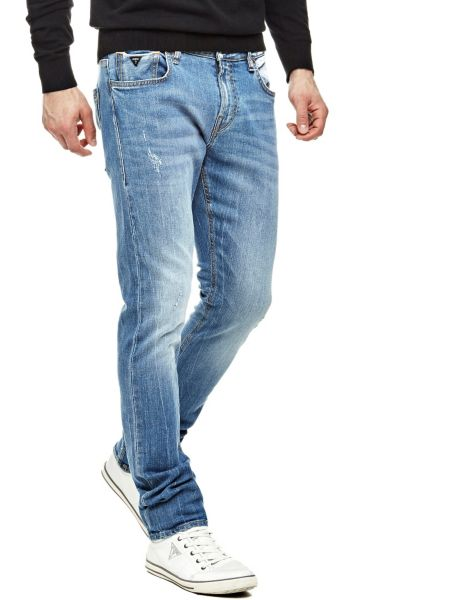 Image of Guess Delavé Superskinny Jeans