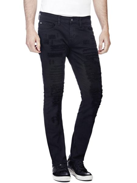 Jeans Skinny Strappi All Over