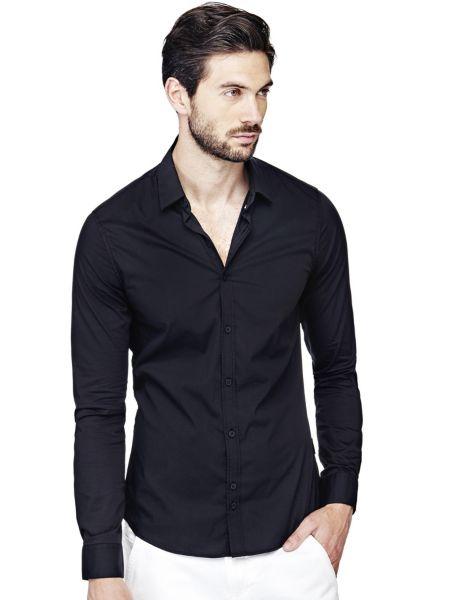 Camicia Classica In Misto Cotone
