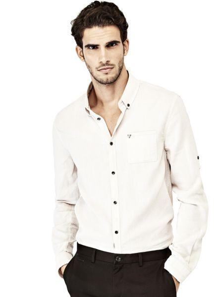 Camicia Classica In Cotone