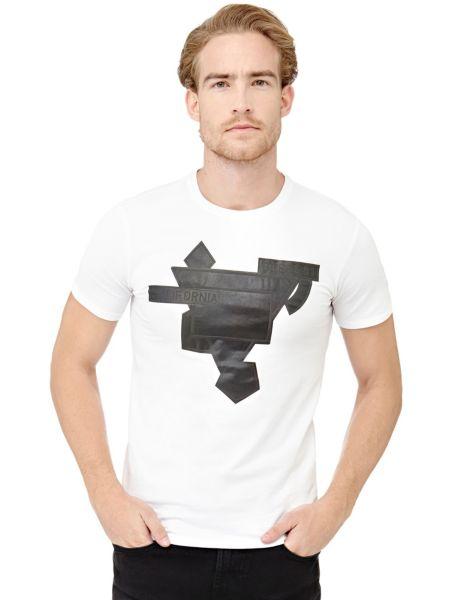 Imagen principal de producto de Camiseta Parche Frontal Logotipo - Guess