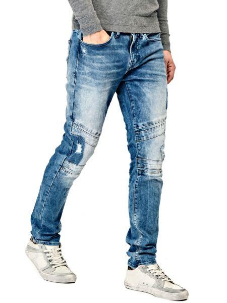 Jeans Modello Biker