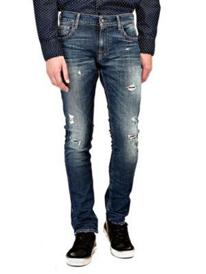 Jeans Superskinny Strappi