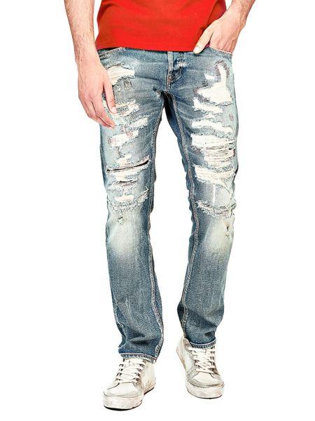 Jeans Slim Abrasioni