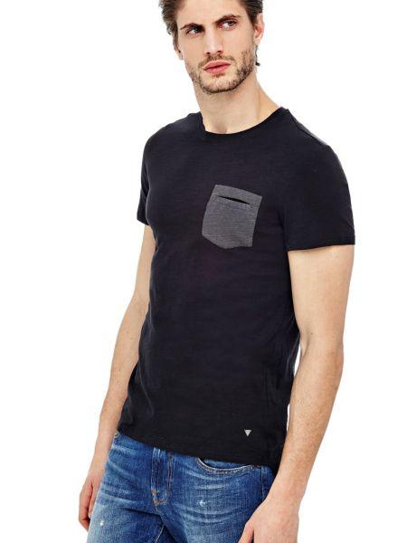 Imagen principal de producto de Camiseta Minibolsillo En Contraste - Guess