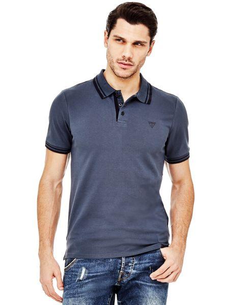 Imagen principal de producto de Camiseta Polo Perfiles En Contraste - Guess