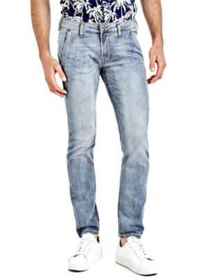 Jeans Superskinny Effetto Used