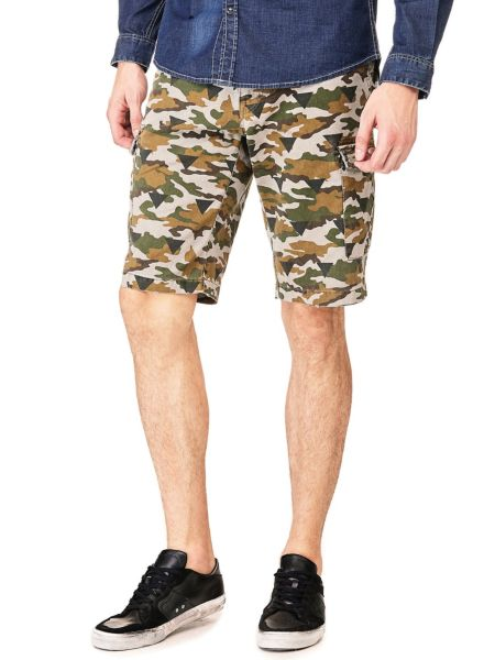 Shorts Stampa Camouflage