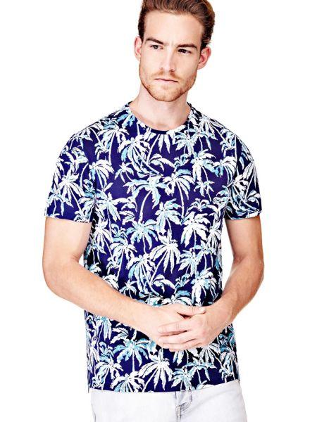 Imagen principal de producto de Camiseta Motivo Palmeras - Guess