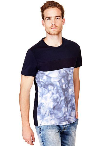 Imagen principal de producto de Camiseta Estampado Descolorido - Guess