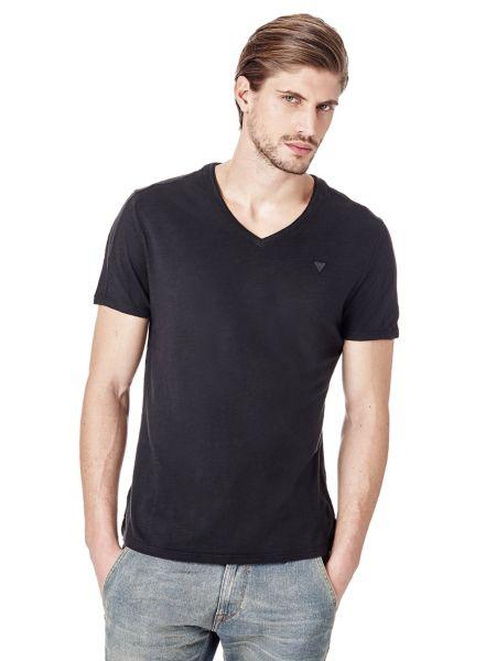 Imagen principal de producto de Camiseta Cuello De Pico - Guess
