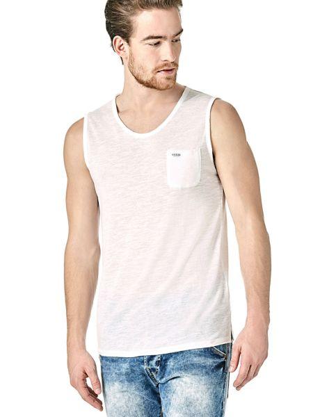 Imagen principal de producto de Camiseta Sin Mangas Minibolsillo Logo - Guess