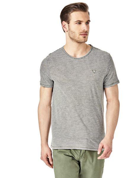 Imagen principal de producto de Camiseta Micromotivo Rayas - Guess