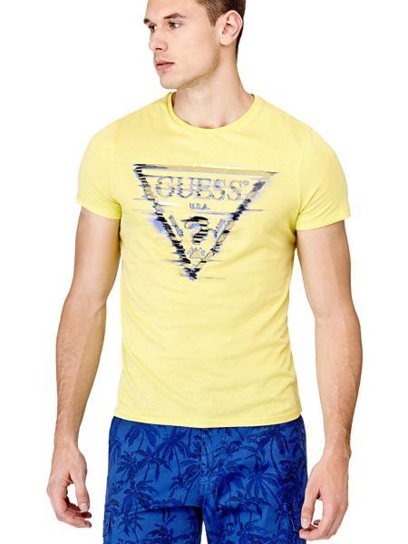 Imagen principal de producto de Camiseta Triángulo Logotipo - Guess