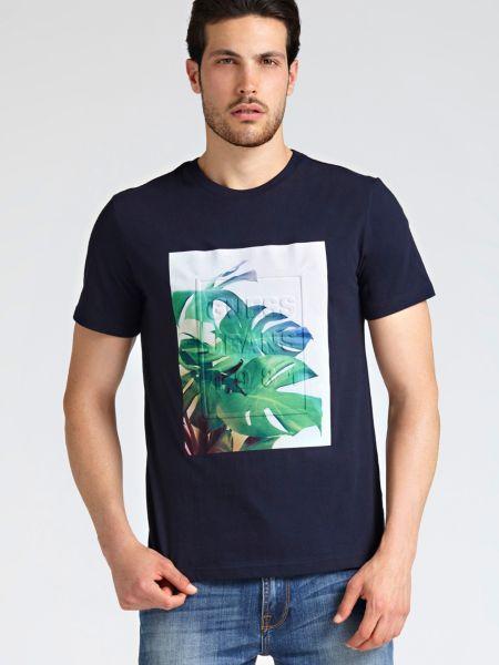 Imagen principal de producto de Camiseta Logo Relieve Palmera - Guess