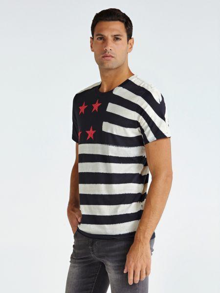 Imagen principal de producto de Camiseta Estampado Bandera Ee.Uu. - Guess